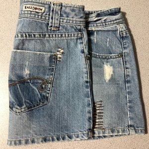 Kali Denim Mini Skirt